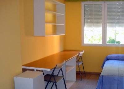 Detalle de una de las habitaciones de la Residencia